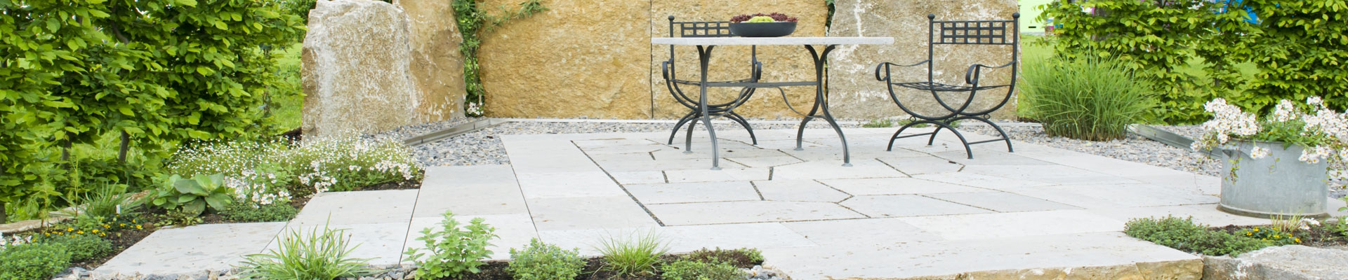 Stone surfaces or concrete surfaces could be kept perfectly